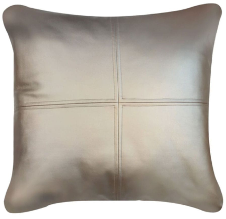 Champagne Feather Filled Cushion
